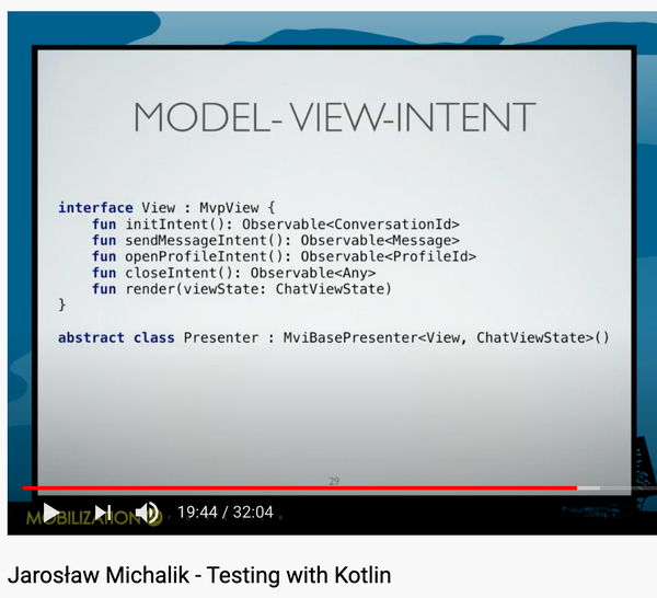 Testing with Kotlin - Mobilization 2018 conference talk